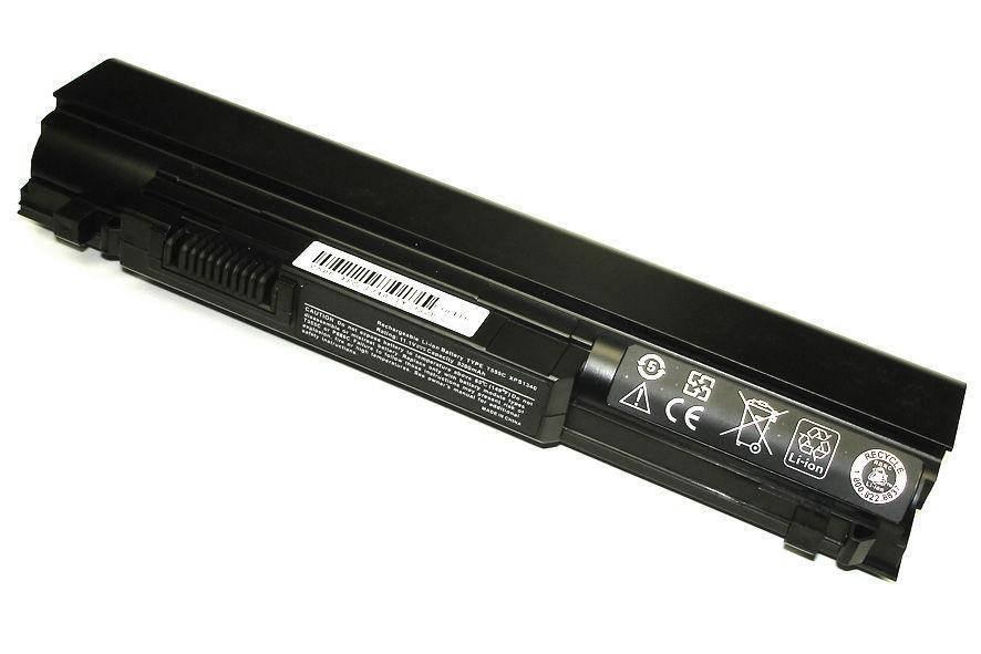 Аккумуляторная батарея для ноутбука Dell T555C Studio XPS 13 11.1V Black 5200mAh OEM