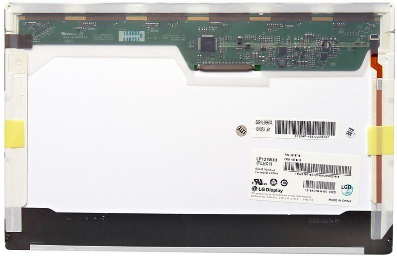 """Матриця для ноутбука 12,1"""", Normal (стандарт), 30 pin широкий (зверху праворуч), 1280x800, Світлодіодна (LED),"""