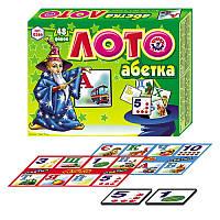 "Лото ""Абетка"", 48 фішок (укр) 0366"