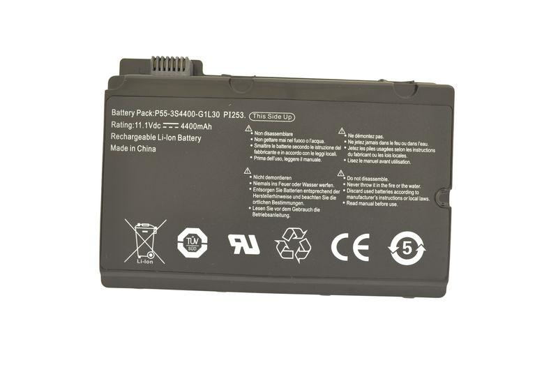 Аккумуляторная батарея для ноутбука Fujitsu-Siemens 3S4400-S1S5-05 (TYPE 05) Amilo Pi3525 11.1V Black 4400mAh