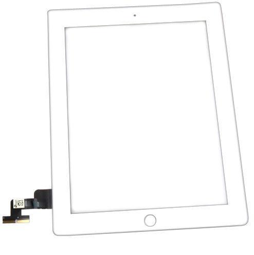 Тачскрин (Сенсорное стекло) для планшета Apple iPad 2 A1395, A1396, A1397 белый