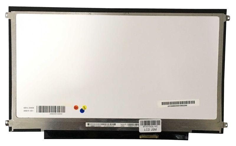 """Матриця для ноутбука 13,3"""", Slim (тонка), 40 pin (знизу справа), 1366х768, Світлодіодна (LED), кріплення"""