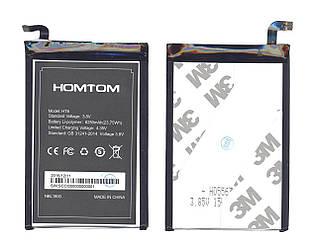 Оригинальная аккумуляторная батарея для Doogee Homtom 3.8V Black 6250mAh 23.75Wh