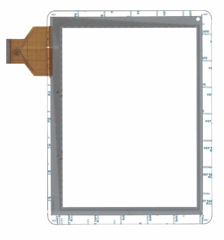 Тачскрин (Сенсорное стекло) для планшета DNS AirTab M975w белый