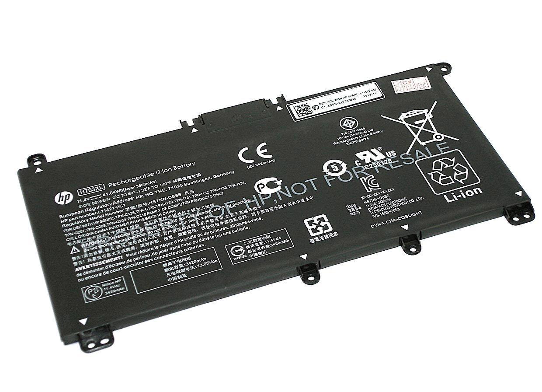 Аккумуляторная батарея для ноутбука HP Compaq HT03XL 15-CS 17-BY 11.55V Black 3630mAh Orig