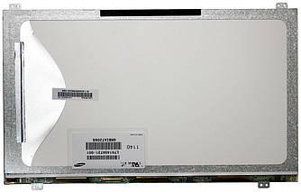 "Матрица для ноутбука 14,0"", Slim (тонкая), 40 pin (снизу слева), 1366x768, Светодиодная (LED), ушки верх/низ,"