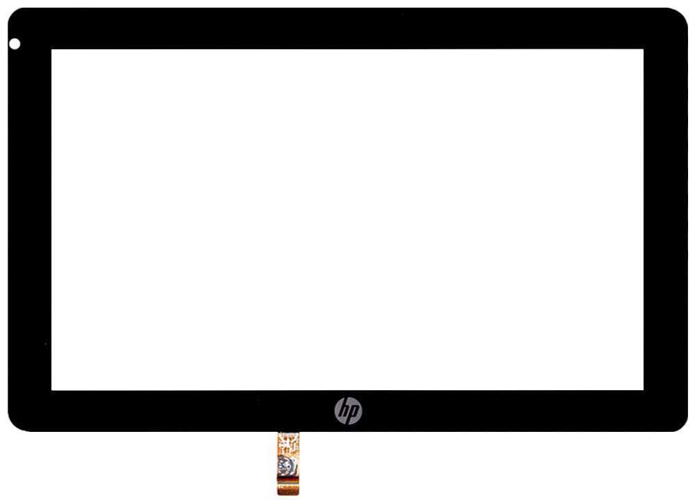 Тачскрин (Сенсорное стекло) для планшета HP Slate 2, Slate 500 A6M60AA черный