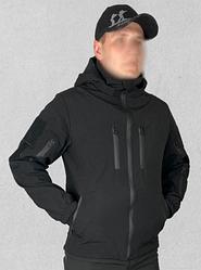 Штормова Куртка Soft shell Чорна