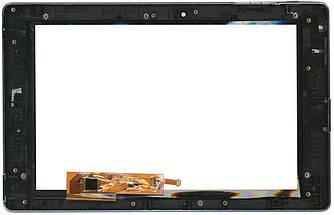 Тачскрин (Сенсорное стекло) для планшета Lenovo K2 + рамка черный. Заявлен, как P1, но не похож, Будем