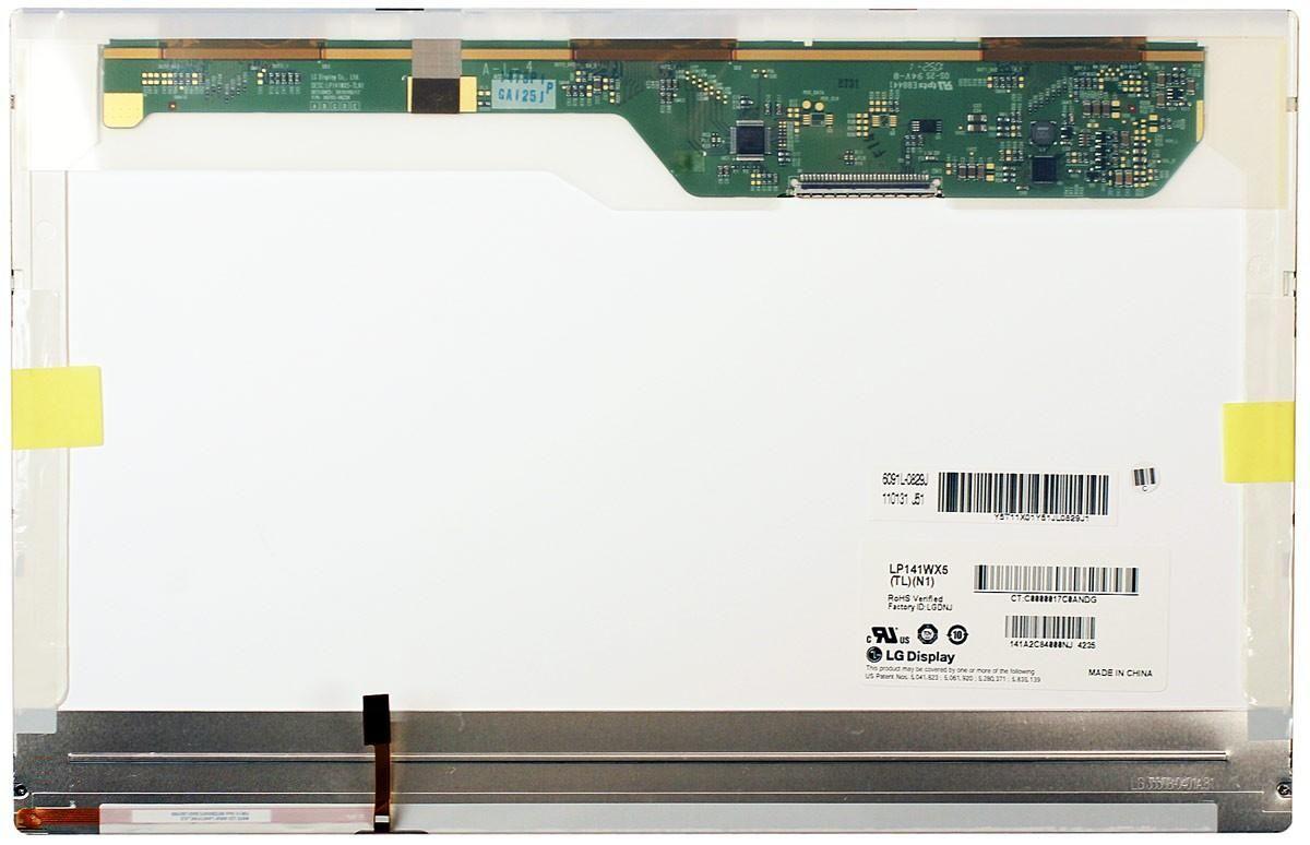 """Матриця для ноутбука 14,1"""", Normal (стандарт), 30 pin широкий (зверху праворуч), 1280x800, Світлодіодна (LED),"""