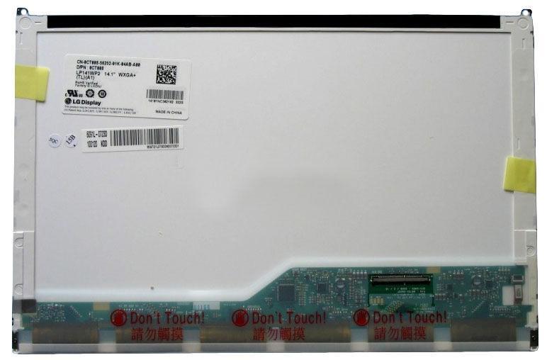 """Матриця для ноутбука 14,1"""", Normal (стандарт), 50 pin (знизу справа), 1440x900, Світлодіодна (LED), без"""