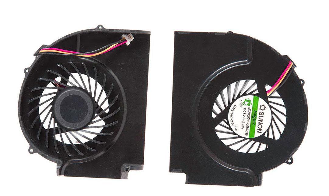 Вентилятор для ноутбука Lenovo ThinkPad T510, W510 VER-1, 5V 0.20A 3-pin SUNON
