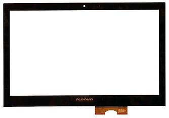 Тачскрин (Сенсорное стекло) для планшета Lenovo IdeaPad Z400 Touch черный