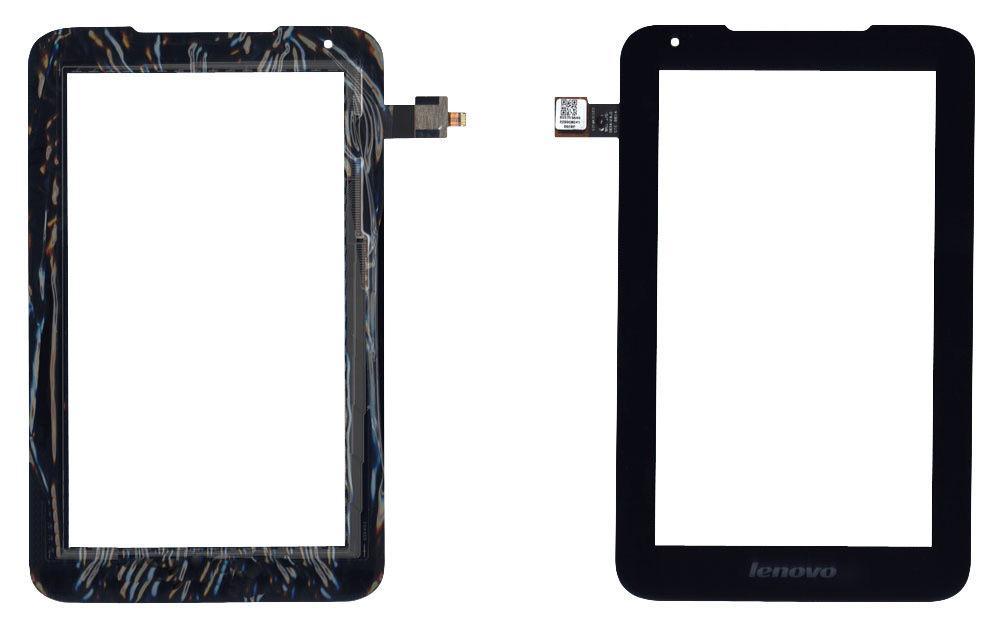 Тачскрин (Сенсорное стекло) для планшета Lenovo IdeaTab A1000L черное