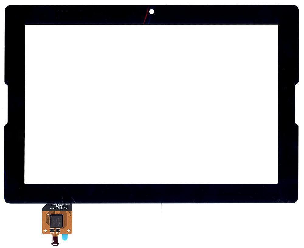 Тачскрин (Сенсорное стекло) для планшета Lenovo IdeaTab A7600 черный