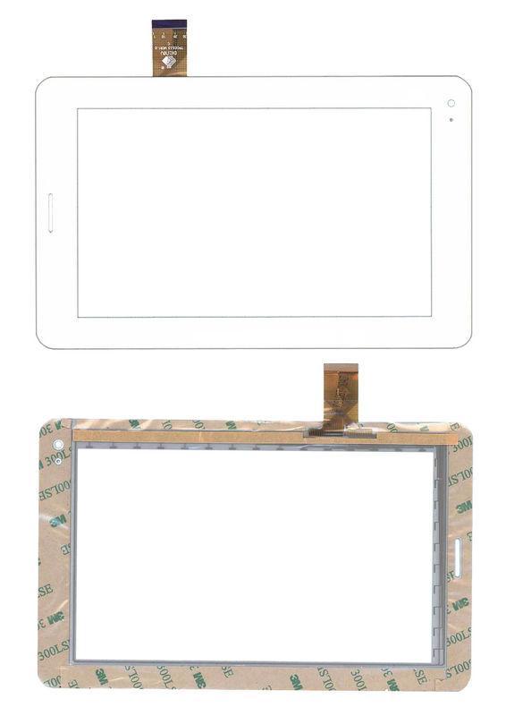 Тачскрин (Сенсорное стекло) для планшета Megafon Login 2 MT3A белый