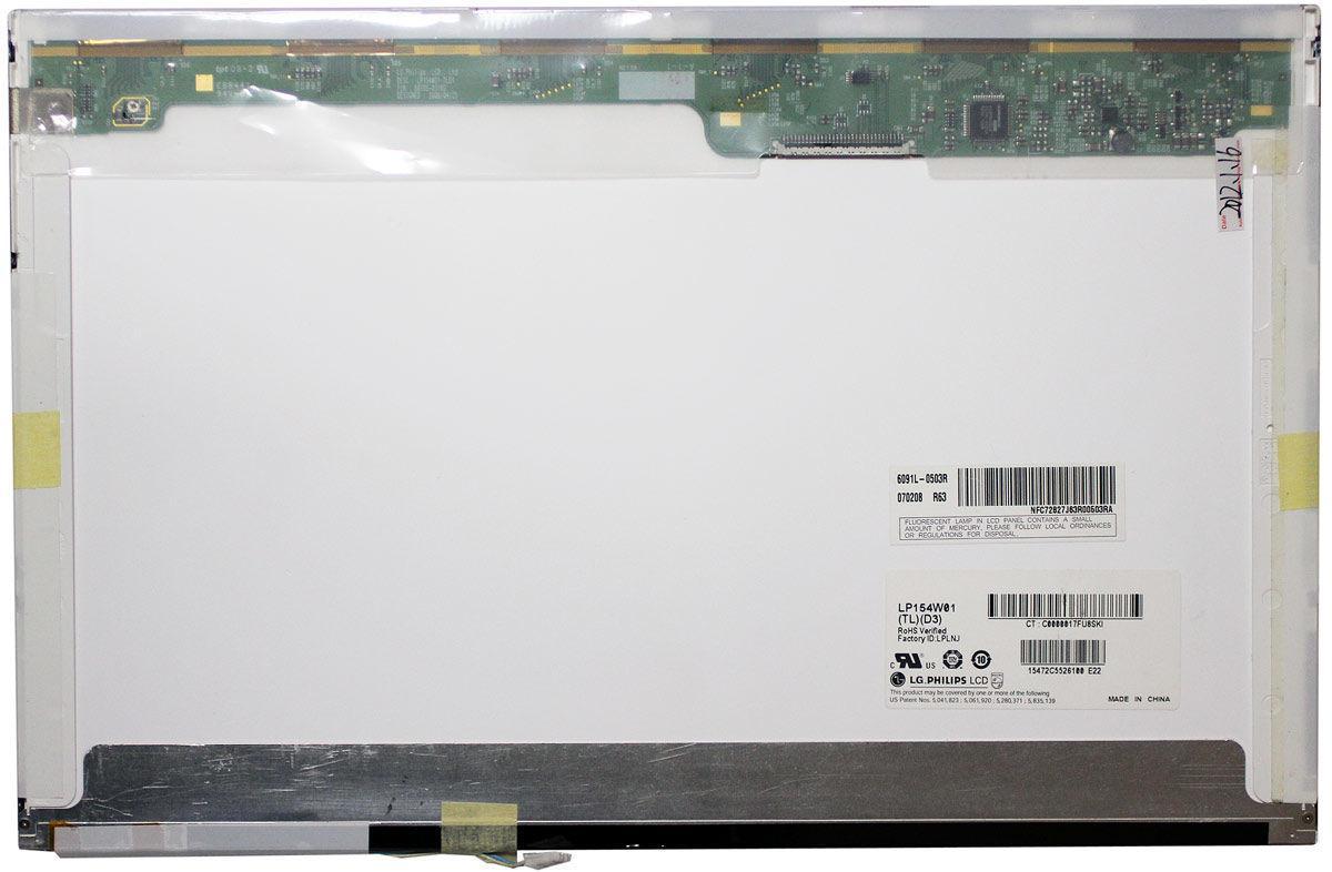 """Матриця для ноутбука 15,4"""", Normal (стандарт), 30 pin широкий (знизу зліва), 1280x800, Лампова (1 CCFL), без"""