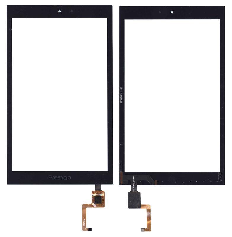 Тачскрин (Сенсорное стекло) для планшета Prestigio MultiPad PMT7787 3G черный