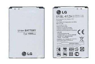 Оригинальная аккумуляторная батарея для смартфона LG BL-41ZH L Fino D295 3.8V Silver 1900mAhr 7.2Wh