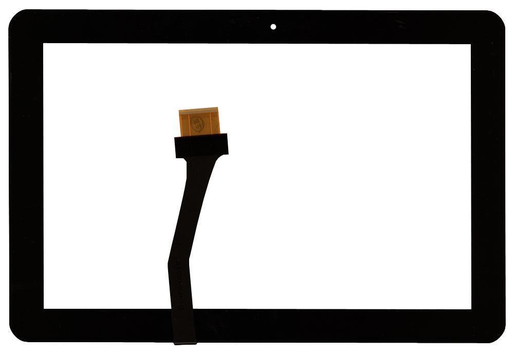 """Тачскрин (Сенсорное стекло) для планшета Samsung Galaxy Tab 10.1"""" P7500 черный"""
