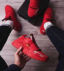 Мужские кроссовки Найс ОФФ Pobedov (красные) 44 (28 см)