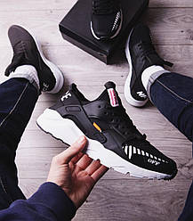 Мужские кроссовки Найс ОФФ Pobedov (черные) 44 (28 см)