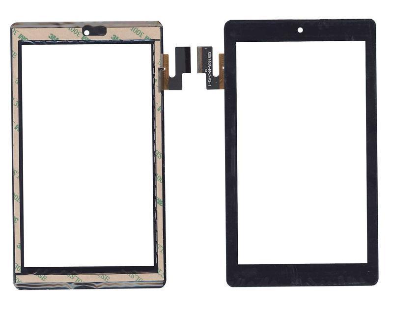 Тачскрин (Сенсорное стекло) для планшета SG5740A-FPC V5-1 черный для TEXET TM-7032, Билайн Таб , Beeline Tab
