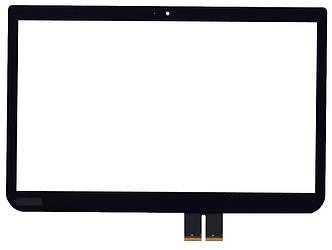Тачскрин (Сенсорное стекло) для планшета Toshiba Satellite E45T-A, U40T-A черный