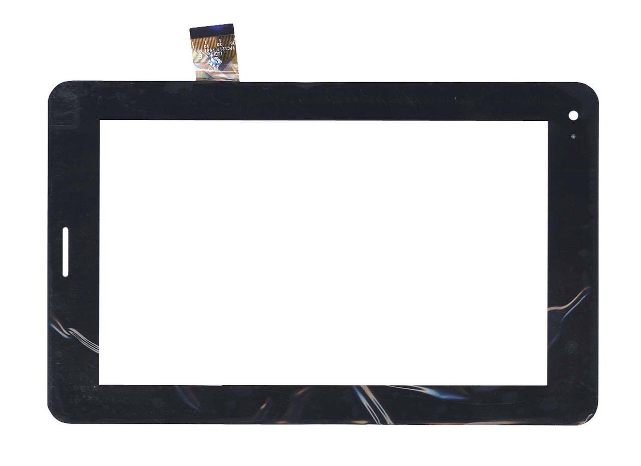 Тачскрин (Сенсорное стекло) TPC1219 VER1.0 для планшета Megafon Login 2. 118mm x 193mm черный
