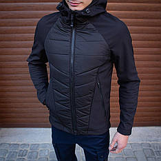 Мужская куртка Rafael Pobedov (черная)