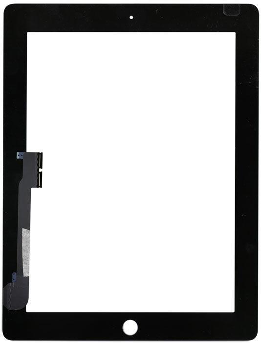 Тачскрин для планшета для Apple iPad3, iPad4 черный