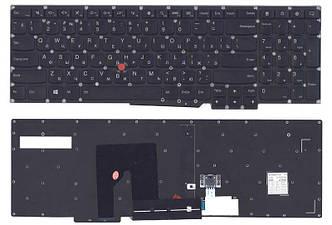 Клавиатура для ноутбука Lenovo ThinkPad (S531, S540) с указателем (Point Stick) Black, (No Frame), RU