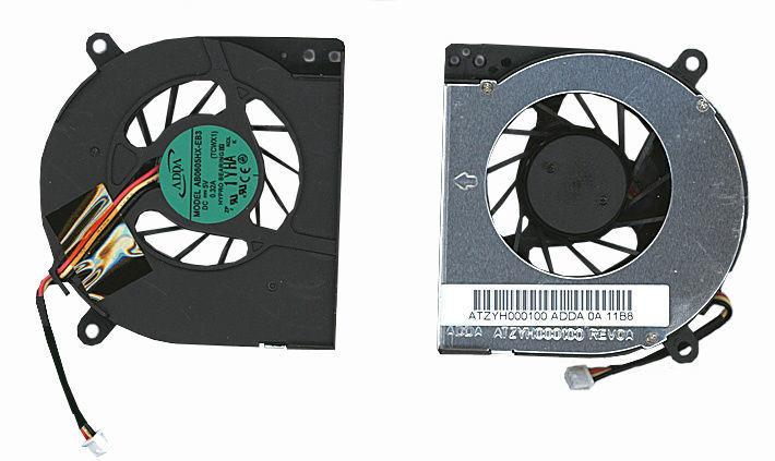 Вентилятор для ноутбука Toshiba Satellite A80, A85, Tecra A3, S2, 5V 0.32 A 3-pin ADDA