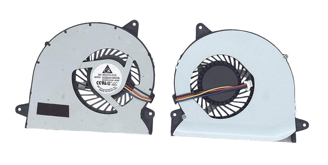 Вентилятор для ноутбука Asus U56E 5V 0.4A 4-pin Brushless