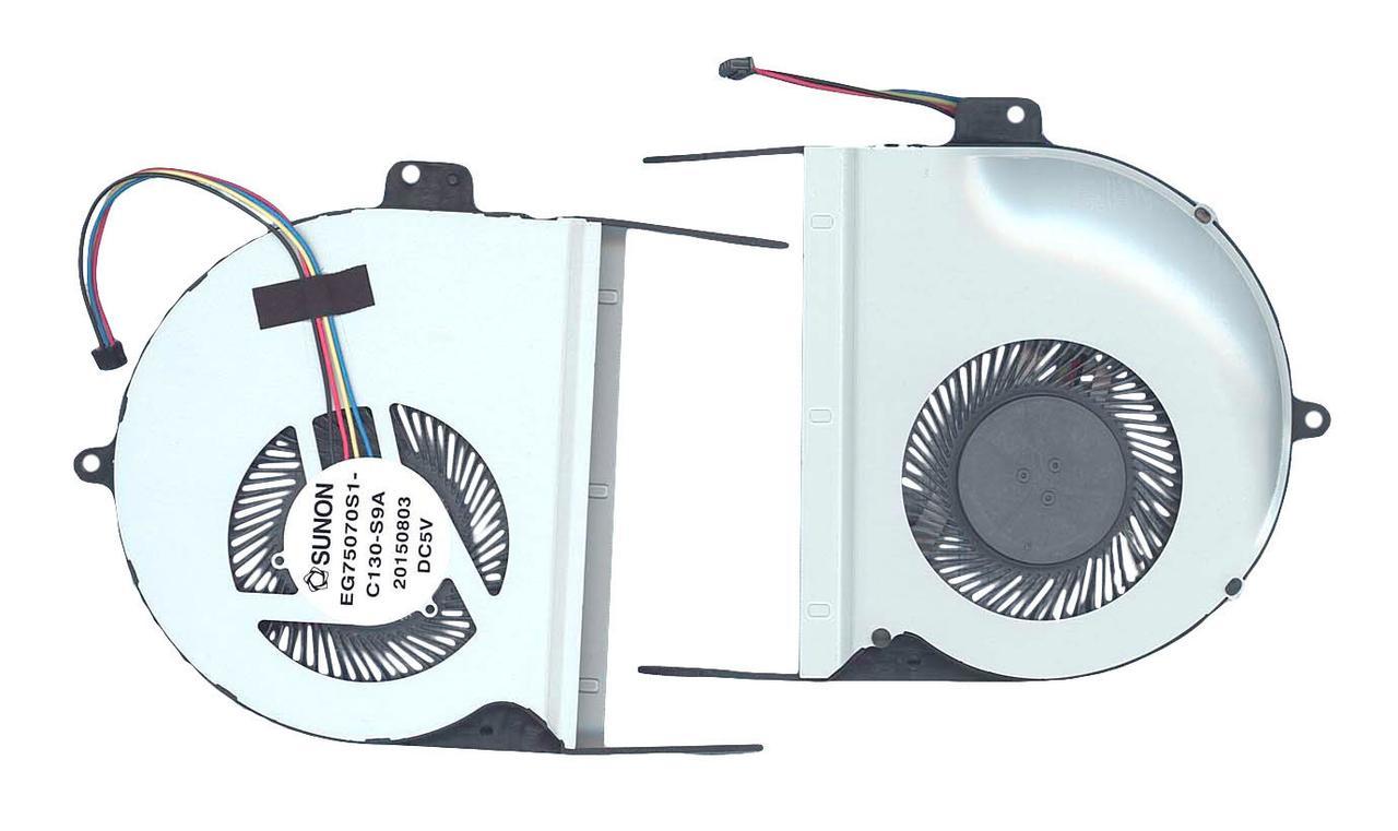 Вентилятор для ноутбука Asus Vivobook Pro N552, N552VX, N552VW, N752, 5V 0.22A 4-pin SUNON