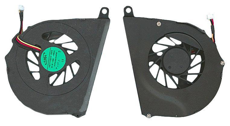 Вентилятор для ноутбука Toshiba Satellite L650, L655, L750, L755, VER-1 5V 0.5 A 3-pin ADDA