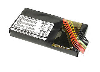 Аккумуляторная батарея для ноутбука MSI BTY-L78 GT62VR 14.4V Black 5225mAh Orig