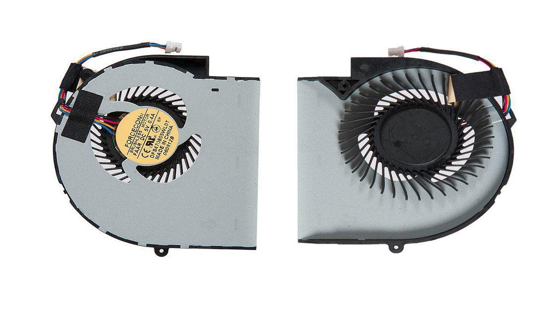 Вентилятор для ноутбука Dell Insipiron 13Z, M301Z, N301Z, N311Z, Vostro V131, 5V 0.4 A 4-pin Forcecon