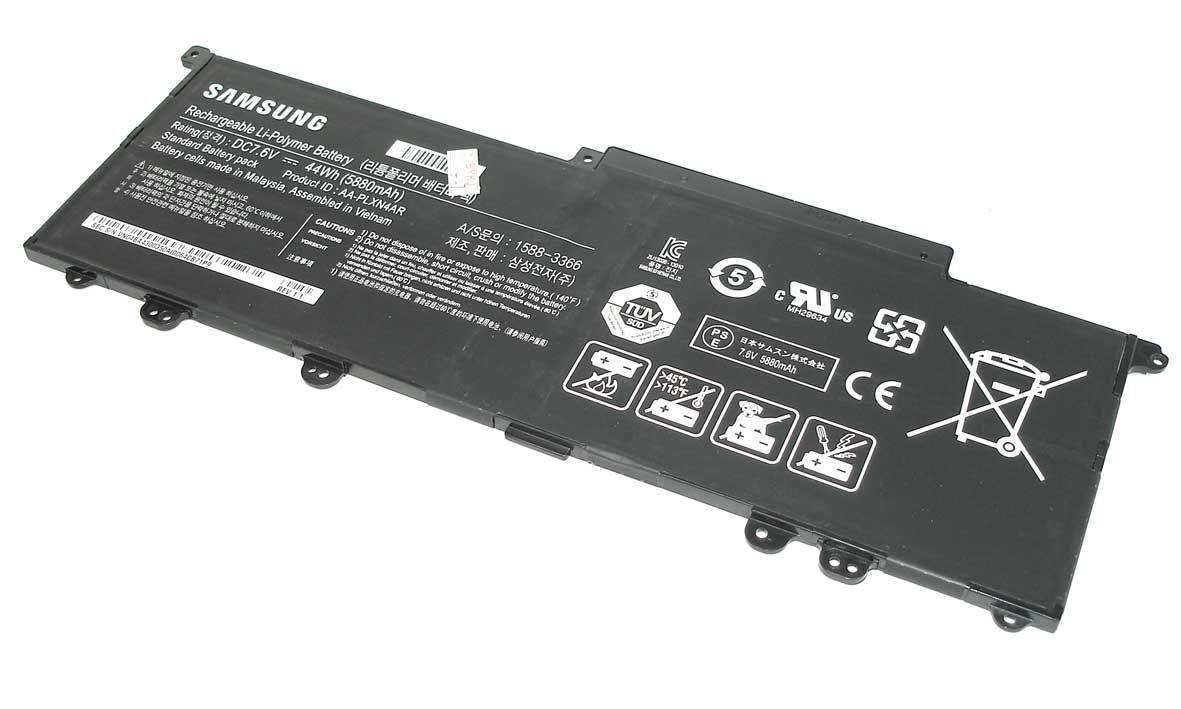Аккумуляторная батарея для ноутбука Samsung AA-PLXN4AR 7.6V Black 5880mAh Orig