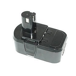 Аккумулятор для шуруповерта Ryobi P104, P103, RB18L15 4.0Ah 18V черный