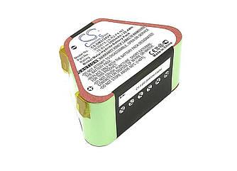Аккумулятор для пылесоса Dirt Devil M3120, M3121. Ni-MH, 3000mAh, 10.8V зеленый