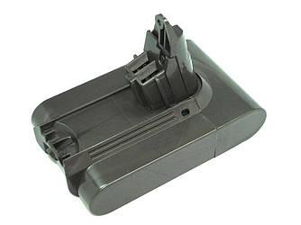 Аккумулятор для пылесоса Dyson DC58, DC59, DC61 Animal, DC62 2200mAh 21.6V черный