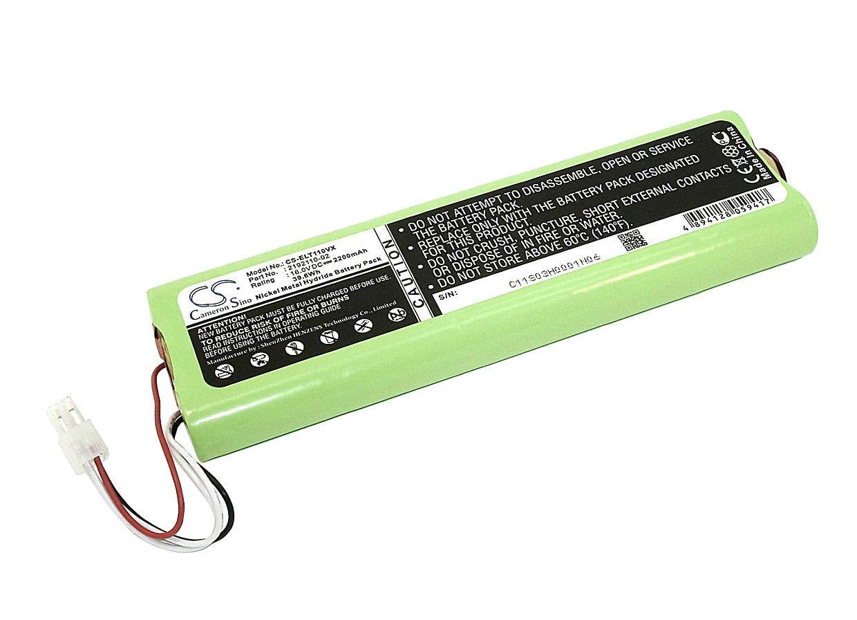 Акумулятор для пилососа Electrolux CS-ELT110VX Trilobite, ZA1 Green 2200mAh 18V