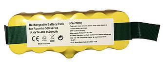 Аккумулятор для пылесоса iRobot Roomba 500 3500mAh 14.4V желтый
