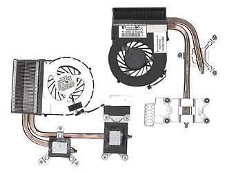 Система охлаждения для ноутбука HP 5V 0,5А 3-pin Forcecon HP Envy 17