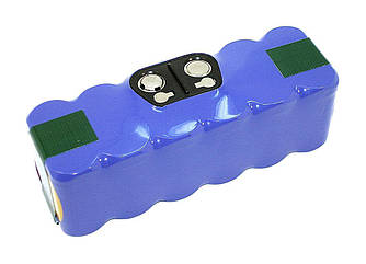 Аккумулятор для пылесоса iRobot Roomba 600, 800, 980 Li-ion 4800mAh 14.4V Синий