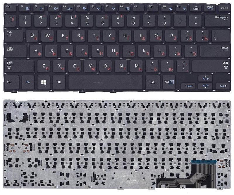 Клавиатура для ноутбука Samsung (NP915S3) Black, (No Frame), RU
