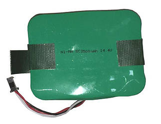 Аккумулятор для пылесоса Xrobot XR-510, Helper, CLEVER&CLEAN Z-Series 3500mAh 14.4V зеленый