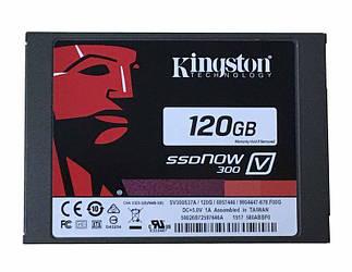 "SSD для ноутбука 2,5"" 120GB Kingston SV300S37A Скорость чтения: 450Мб/с, Скорость записи: 450Мб/с"