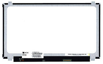 "Матрица для ноутбука 15,6"", Slim (тонкая), 40 pin (снизу справа), 1366x768, Светодиодная (LED), крепления"